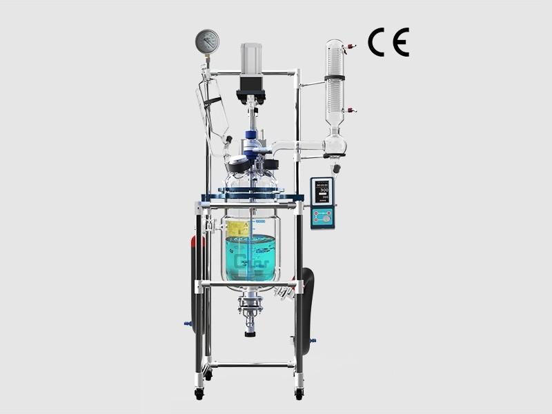 调速玻璃反应釜GR-10CE