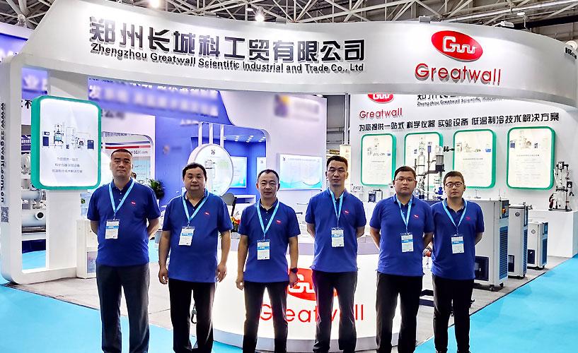 郑州长城科工贸在青岛API展会上亮相
