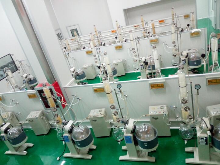 旋转蒸发仪等设备用于植物萃取4