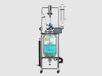 调速玻璃反应釜GR-50L