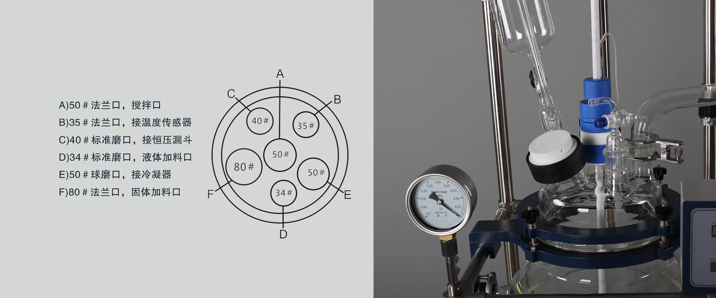 调速玻璃反应釜 (6)